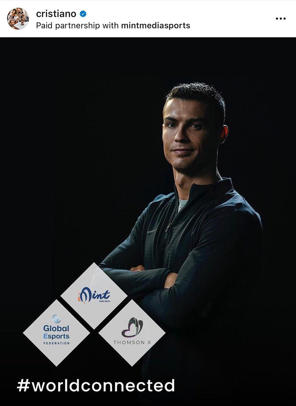Cristiano Ronaldo Esports Sports