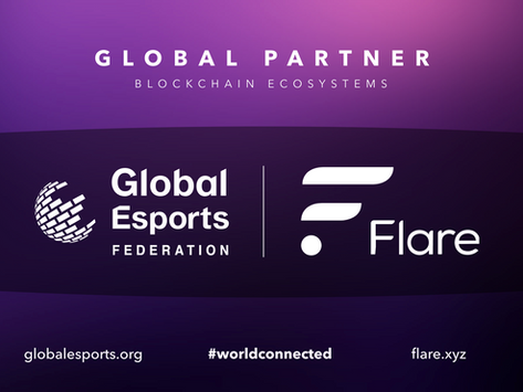 Global Esports Federation and Flare Networks Strike Agreement to Light the Way on Blockchain