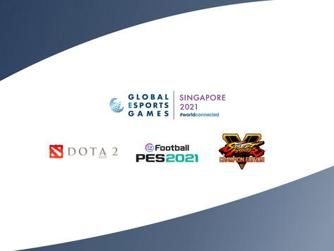 Countdown to Singapore 2021 Global Esports Games