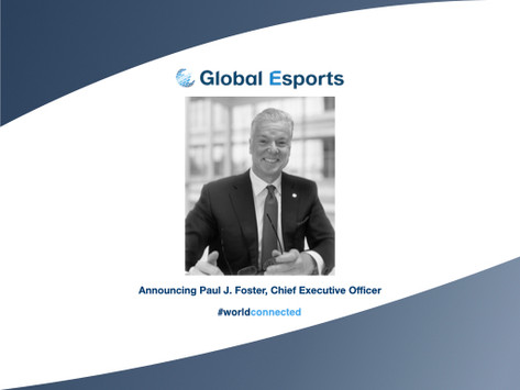 The Global Esports Federation appoints first Chief Executive Officer