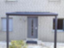 Haustür Vordach Überdachung Duisburg-Moers. Edelstahl und Glas, Haustür Überdachung, Vordach Preise,Angebote und Lieferung auf Anfrage wegen Anfertigung.