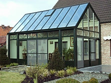 wintergarten bilder terrassendach bilder orangerien. Black Bedroom Furniture Sets. Home Design Ideas