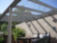 Terrassenüberdachung, Terrassenüberdachungen, Terrassendach Überdachung mit Wintergarten-Solution, wir bieten  Stabilität und Sicherheit