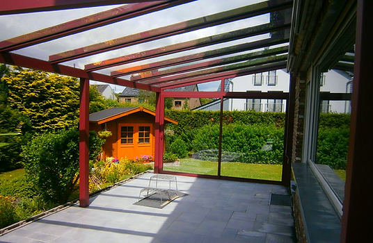 Terrassendach Bergisch-Gladbach, Terrassenüberdachung in Bergheim mit Glas und Alu, zum weiteren Ausbau als Wintergarten geeignet,Preise Angebote Kosten