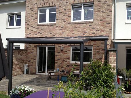 Terrassendach Mettmann, Terrassenüberdachungen in Mettmann mit Glas und Alu, zum weiteren Ausbau als Wintergarten geeignet,Preise Angebote Kosten und Info