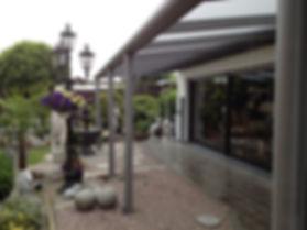 Terrassendach Bottrop, Terrassenüberdachungen in Bottrop. Überdachung mit Glasdach als Wetterschutz zu günstigen Preise Angebote Kosten