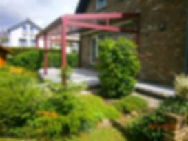 Terrassendach Dorsten, Terrassenüberdachung in Dorsten mit Glas und Alu, zum weiteren Ausbau als Wintergarten geeignet,Preise Angebote Kosten