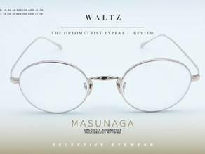 The optometrist Expert Review   MASUNAGA GMS-198T x Rodenstock Multigressiv Myview2