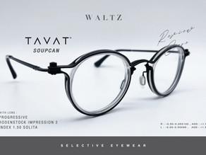 Review Case : แว่น TAVAT SoupCan กับเลนส์ Progressive Rodenstock รุ่น Impression 2 Index 1.50 Solita