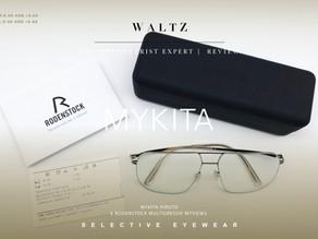 The optometrist Expert l Review MYKITA Hiroto x Rodenstock Multigressiv MyView2