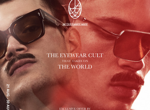 Jacques Marie Mage - The Eyewear Cult that takes on the world 2020
