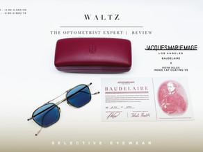 WALTZ - the optometrist Expert l Review Jacques Marie Mage Baudelaire x HoyaHilux