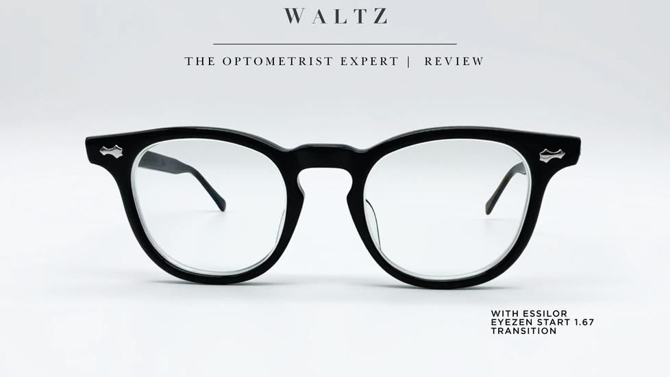 WALTZ - the optometrist Expert Review :  TVR 512 x Lens ESSILOR : Eyezen Start  1.67 Transion