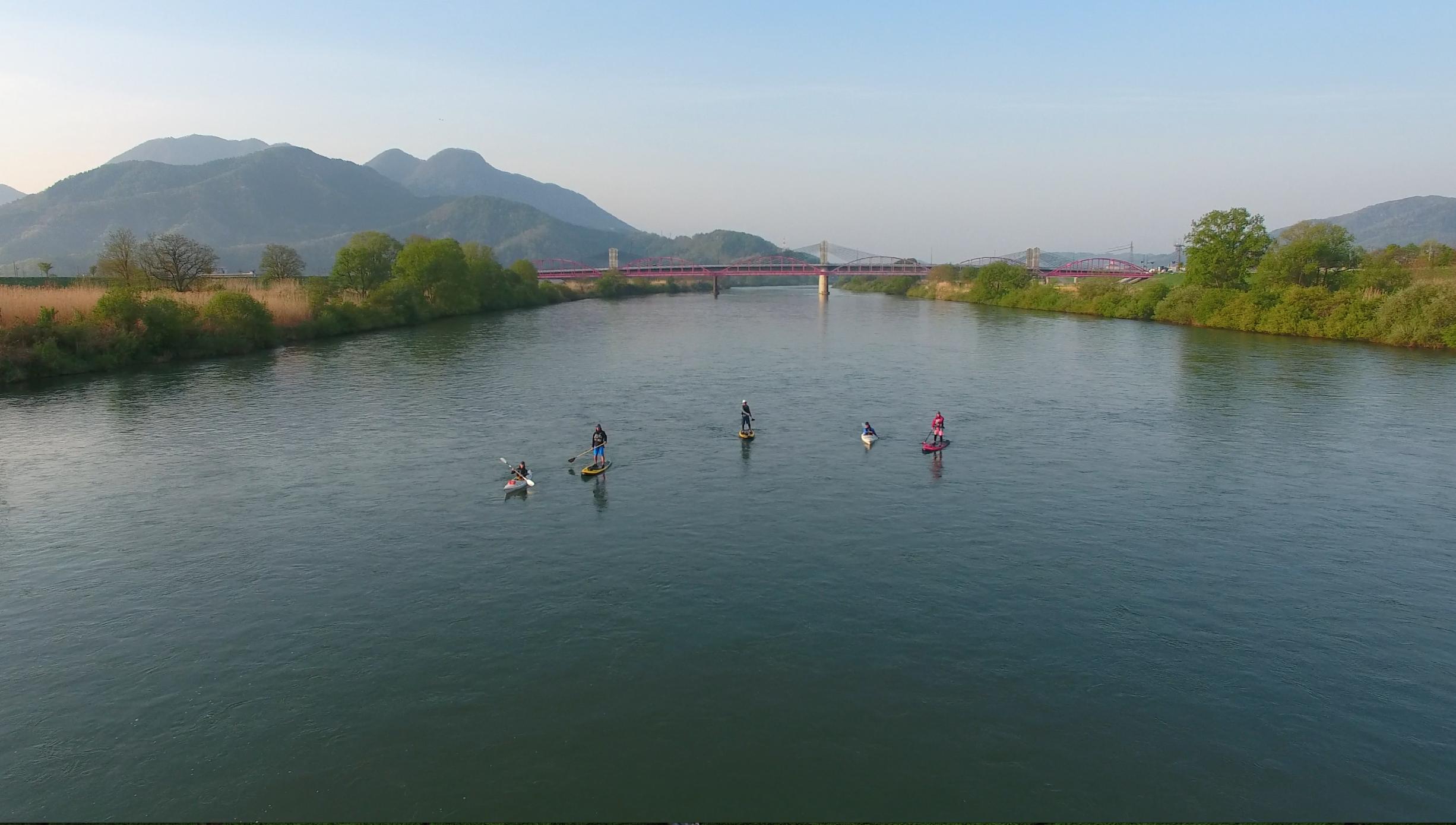 日本一の大河を下る千曲川ツアー
