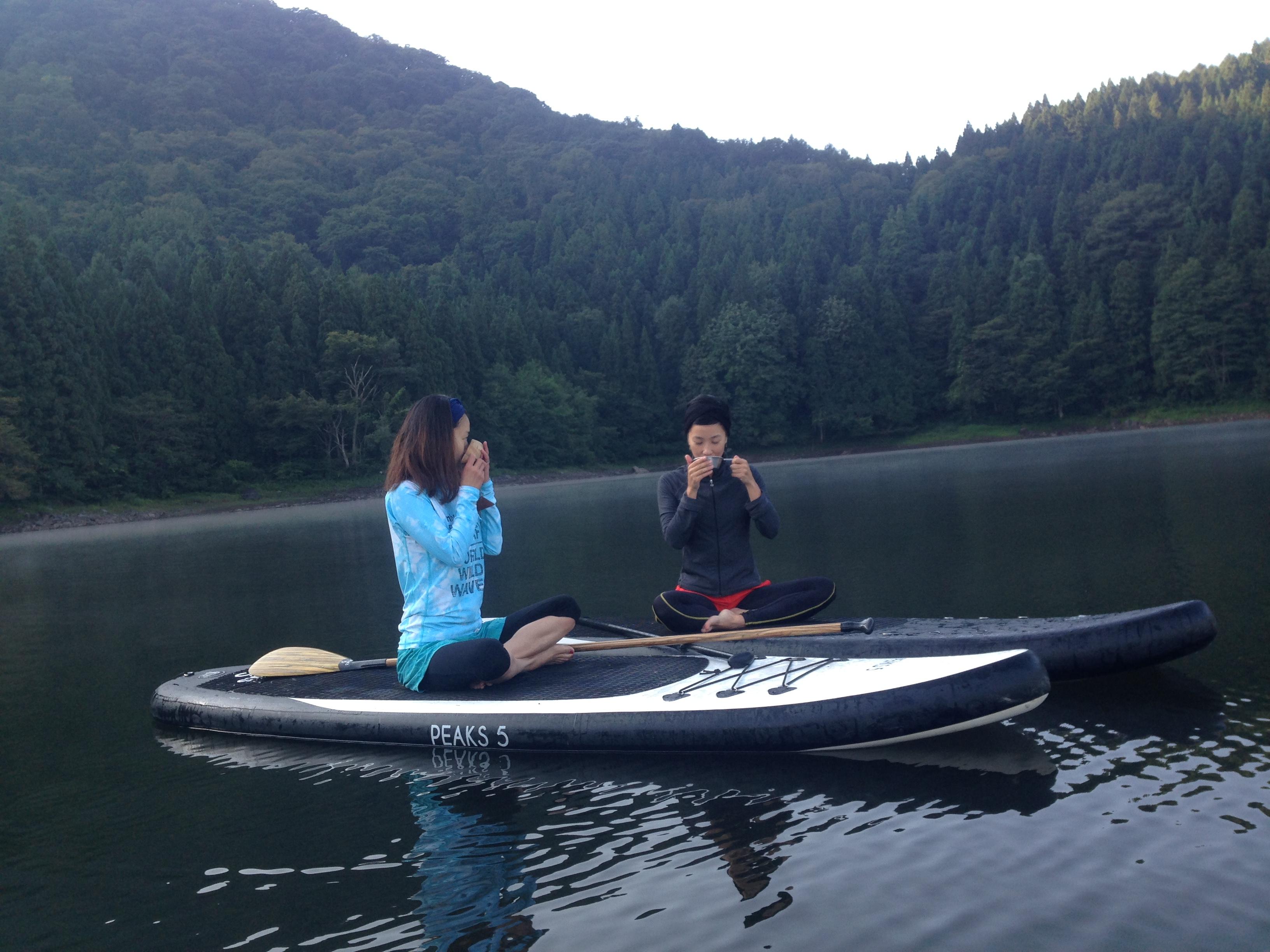 北竜湖SUPツアー