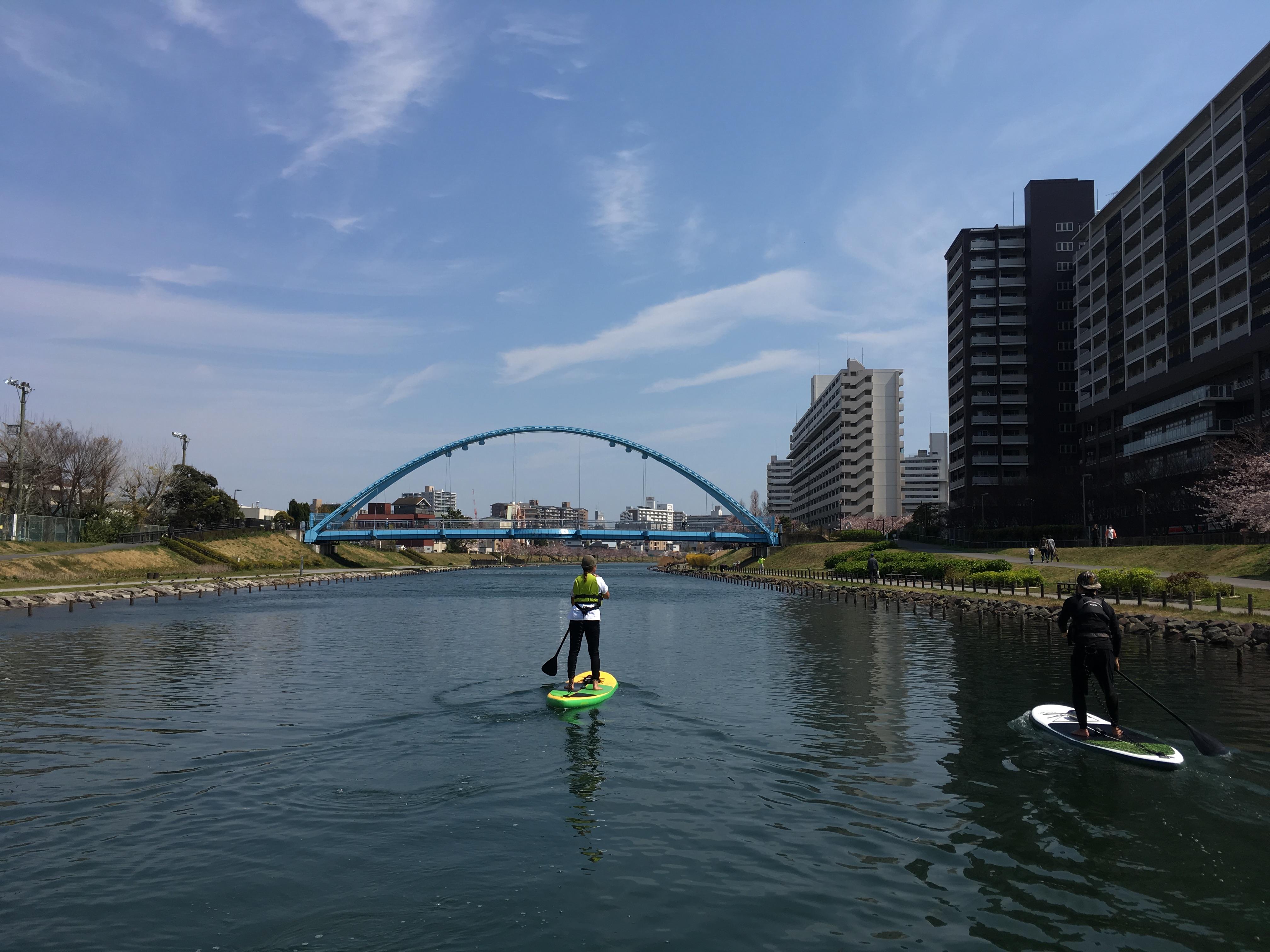 穏やかな運河