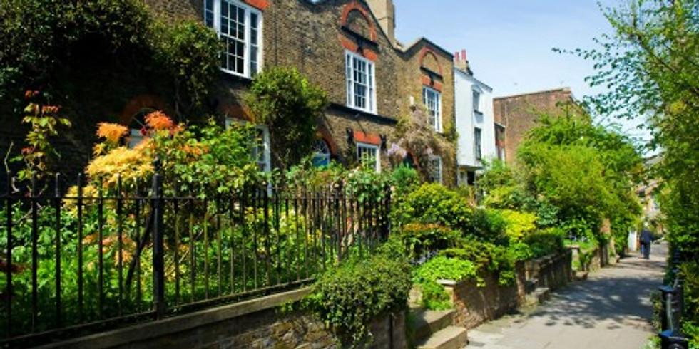 "Liquid Arch Walk - Hampstead Garden Suburb the ""Garden City"""