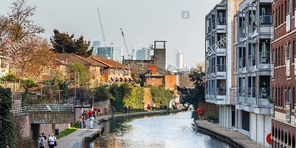 Liquid Arch Virtual Walk - Along the Regent's Canal (Heb)