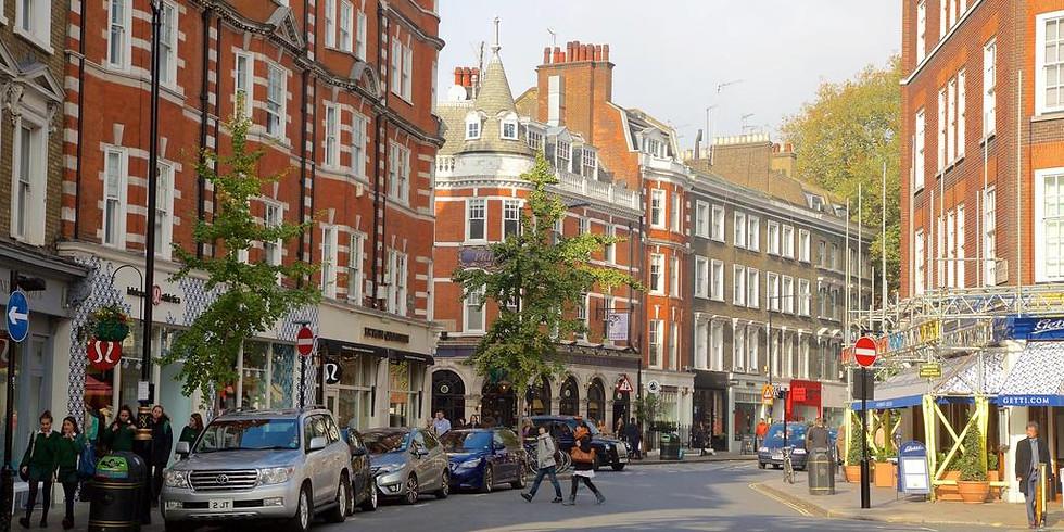 Liquid Arch Walk - Marylebone & Mayfair: High & Low Life