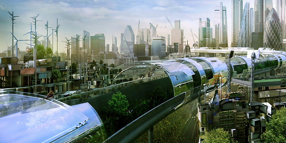 Liquid Arch Virtual Walk - Cities of Tomorrow (Heb)