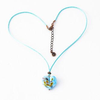 coeur bleu ciel turquoise et couleurs