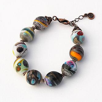 bracelet bariolé