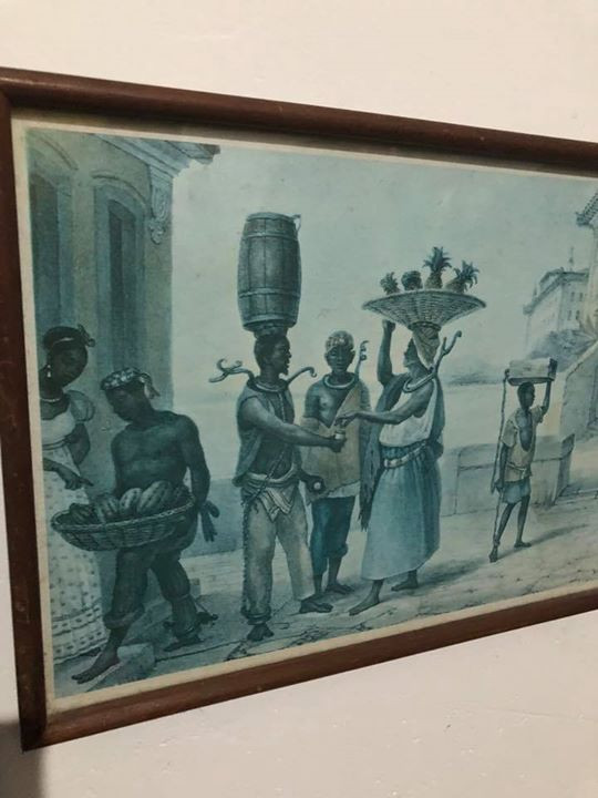Depiction of slave life in Rio