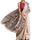 Thumbnail: Beige Multi Color Madhubani Silk Saree