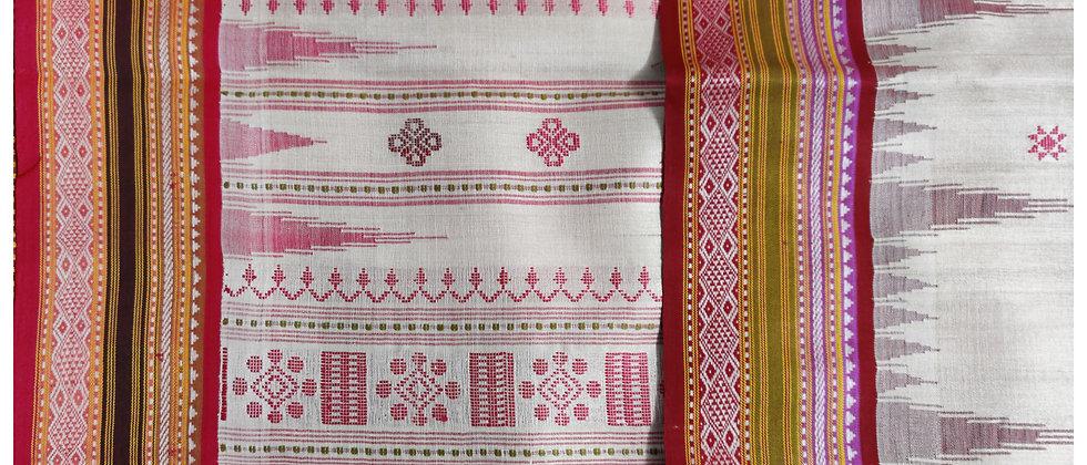 Ganga Jamuna Vidarbha Kervati Silk Saree