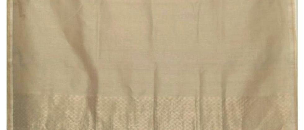 Linen Kosa Silk Saree
