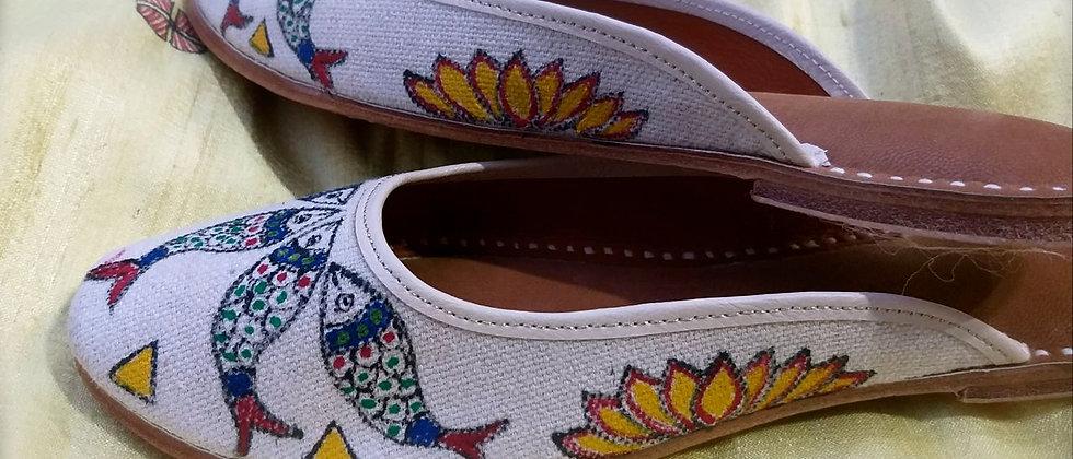 Reza Madhubani Shoes