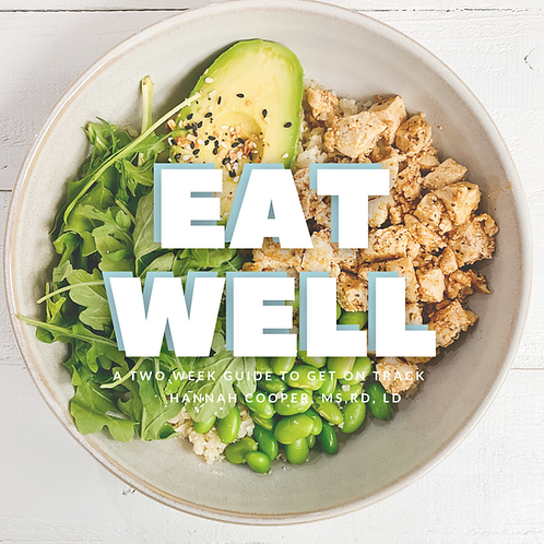 Eat Well 2 Week Guide