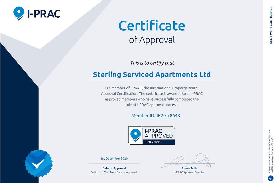 IPRAC Certificate - TOBS AccommodationsNorwich.jpg