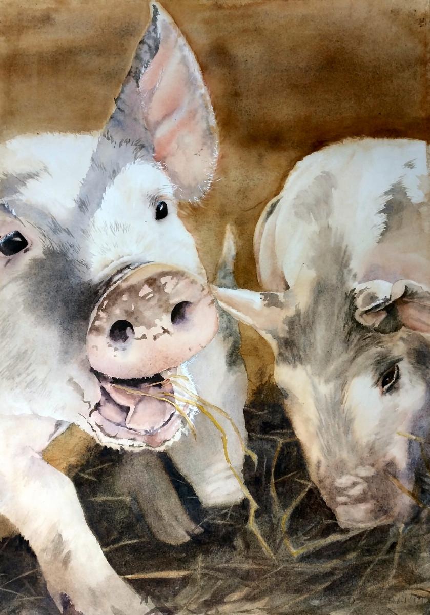 Three Little Pigs (sold)