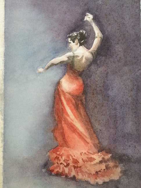 Flamenco Dancer (sold)