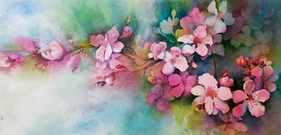 Spring Blossoms (sold)