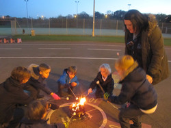 Mearns fire pit