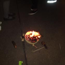 St C fire pit