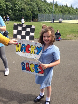 wacky races sign