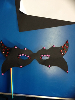Mardi Gras Mask (2)