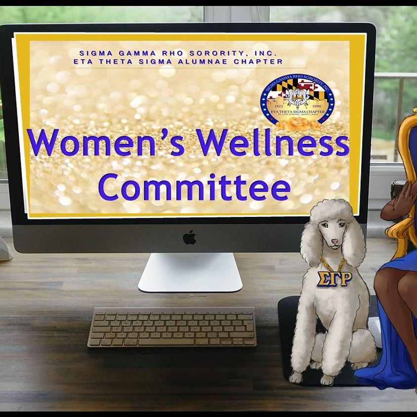 Eta Theta Sigma Women's Wellness Committee 1st Meeting