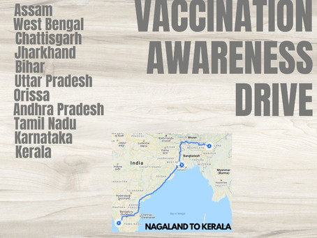 Peace and Vaccination Awareness Drive