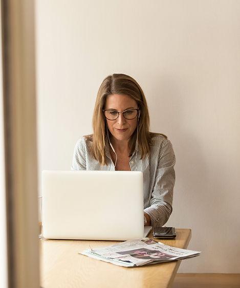 Woman at work