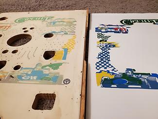 Pachinko Machine Playfield Replacement Comparison