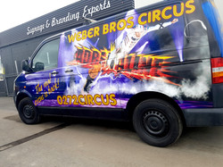 Weber Bros Circus Side