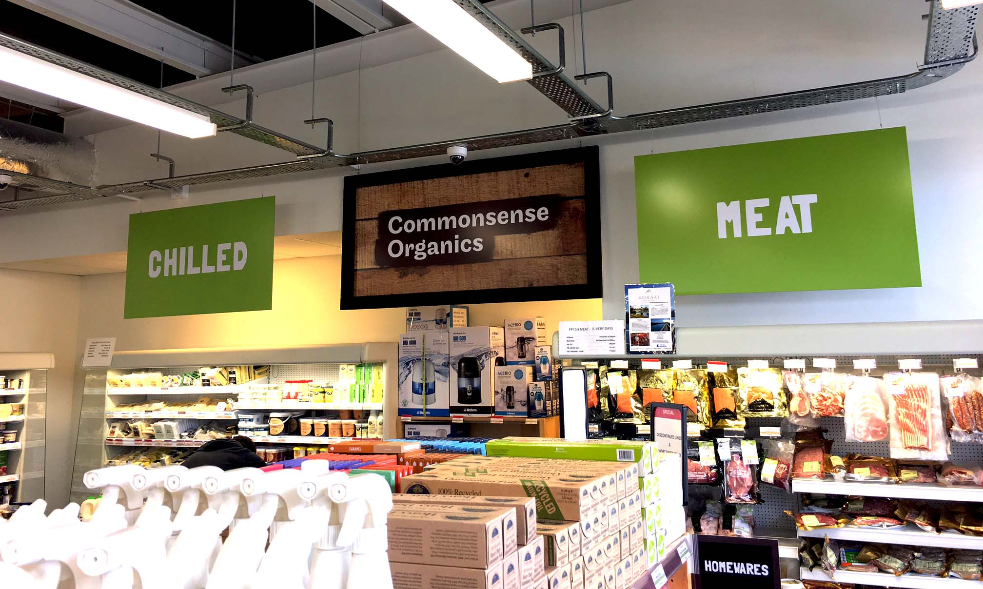 Commonsense Organics interior