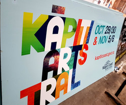KCDC 2400x1200mm Corflute Sign