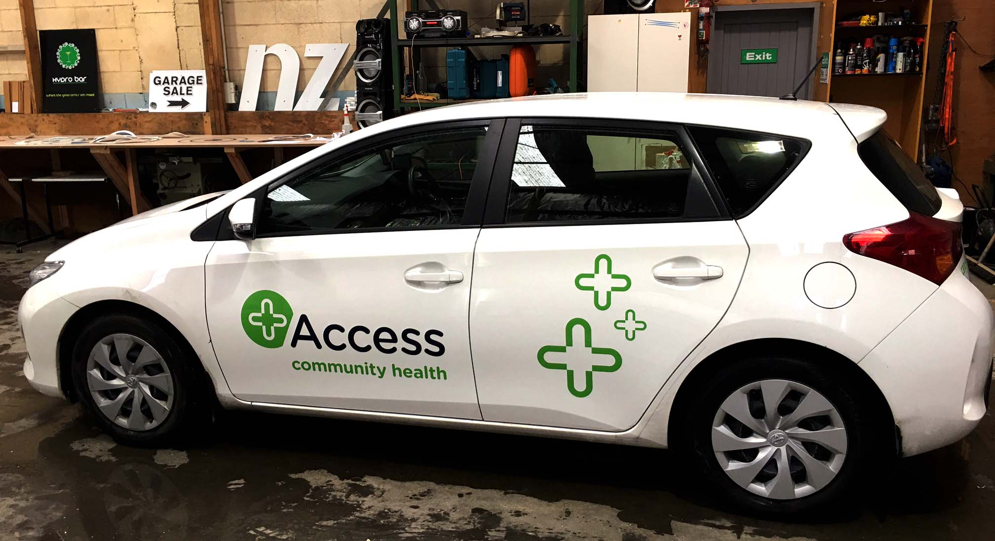 Access Health fleet car