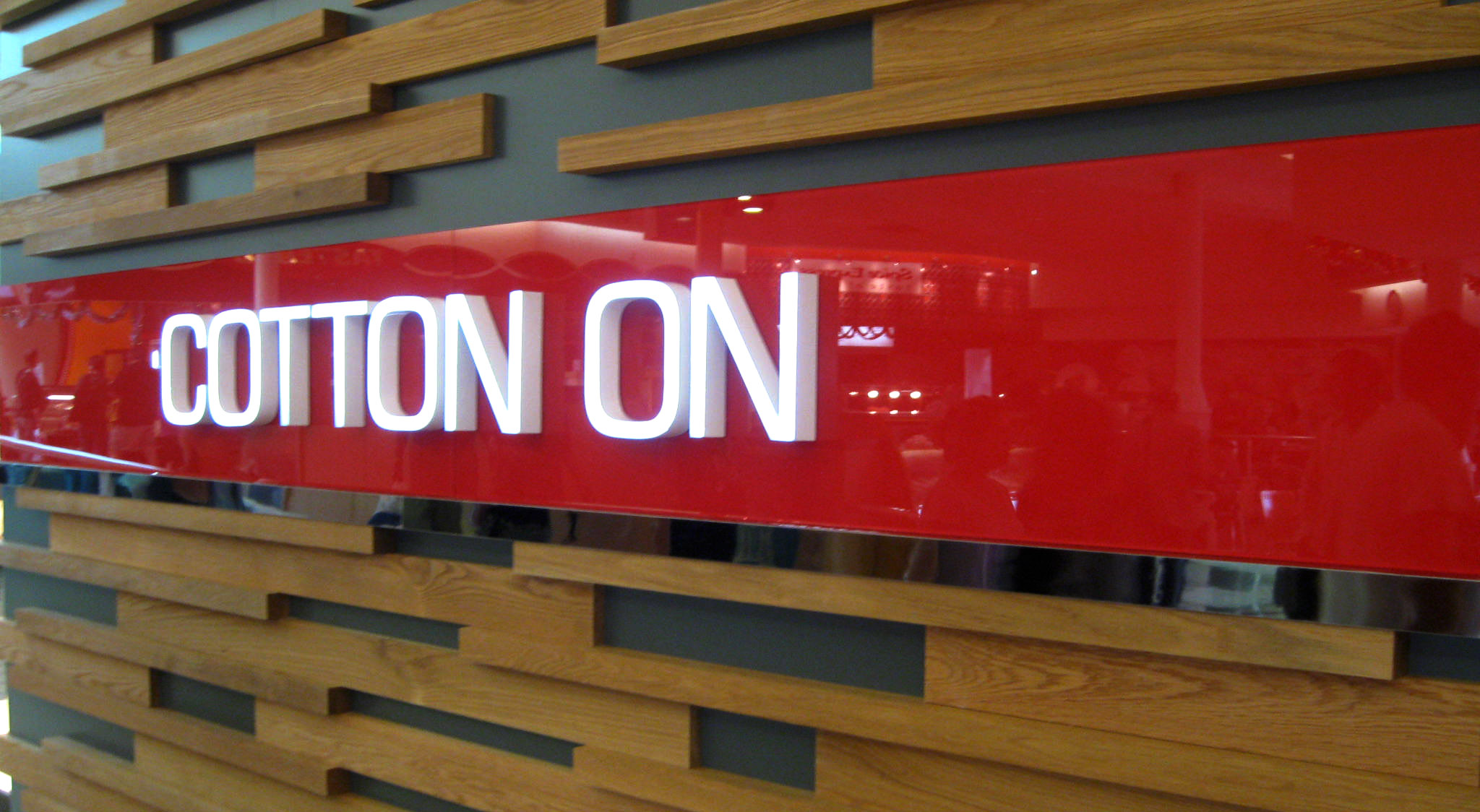 Contton On 3D Lettering