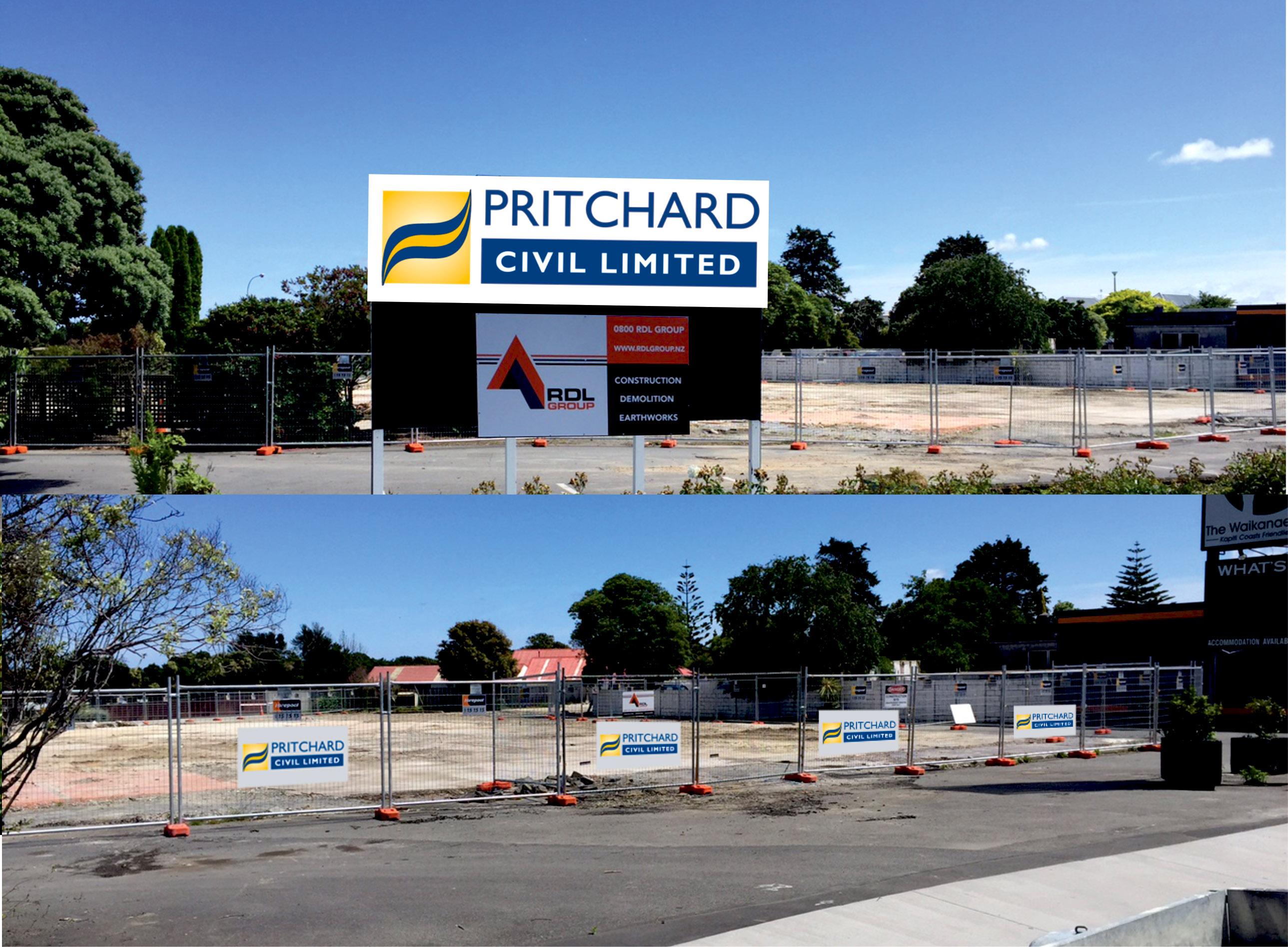 Pritchard Civil Corflute